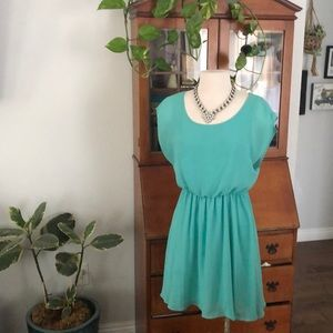 Polyester dress.